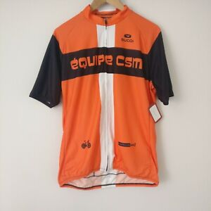 Sugoi Evolution Cycling Jersey Various Sponsors Size XL