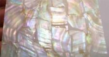 Colorful! Mother of Pearl Shell INLAY Thin Sheet Veneer Luthier Scrapebooking