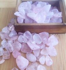 Tumbled Gemstone Crystal Chipstone Natural Rose Quartz 5g Medium to Large