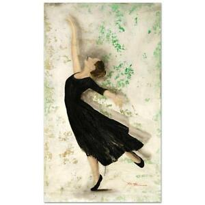 ROSA MCMURTRAY ORIGINAL PAINTING ON CANVAS HAND SIGNED w/COA BALLET DANCING