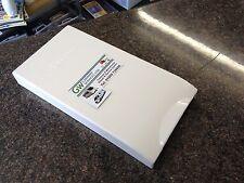 TRUMA ULTRASTORE WATER HEATER GRILL COVER POST 07/2006 IN WHITE - P/NO. 70122-01