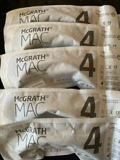 Mcgrath Laryngoscope Mac 4 Disposable Blades 5 Pack
