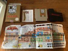 THE LEGEND OF ZELDA - BOXED NINTENDO NES GAME