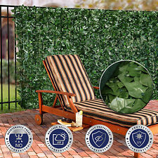 """39"""" (H) Faux Ivy Leaf Privacy Fence Screen Decor Panels Windscreen Patio Garden"""