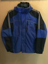 Columbia Youth 18-20 Ski Snow Winter Coat Puffer Jacket Detachable Hoodie