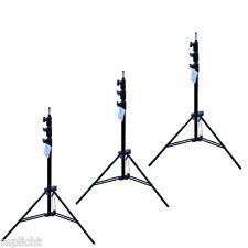 Manfrotto 1004BAC-3 3er Pack von Stativ Master AC Schwarz max 3,66m Stand tripod