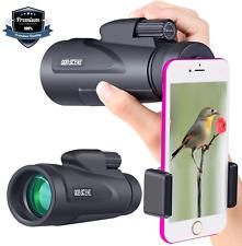 Hd Monocular Starscope Phone Camera Zoom Lens 12X50