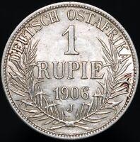 1906 J | German East Africa Wilhelm II 1 Rupie | Silver | Coins | KM Coins