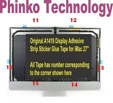 """1x set 27"""" Apple iMac A1419 LCD Screen Adhesive  Stickers Tape 946-4547 946-4552"""