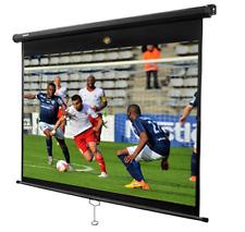 "CIRRUS4K NEW MODEL MPS 80"" 16:9 Manual Pull Down HD Home Cinema Projector Screen"