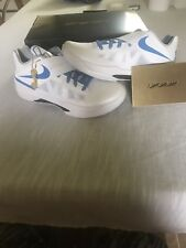 """NIKE KD IV """"BATTLE TESTED"""" MENS SNEAKERS BLUE/WHITE SIZE 13 *BRAND NEW* WITH BOX"""