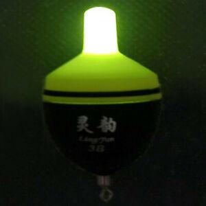 Night Fishing Electronic Bobber Float Intelligent Fish Bite Alarm Warning Lamp