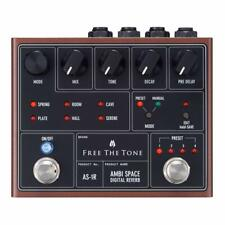 New Free The Tone Ambi Space As-1R Reverb Pedal