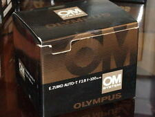 OLYMPUS OM ZUIKO 100mm F2.8 LENS NEW IN BOX