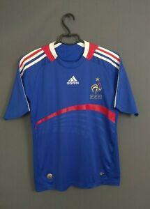 France Jersey 2007 2008 Home Kids Boys LARGE Shirt Soccer Football Adidas ig93