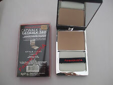 Fashionista Catwalk 360 Pressed Powder Compact Sand New