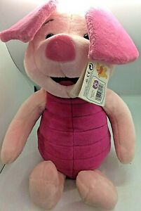 Winnie the Pooh Mattel soft toy in light and dark pink New still with tags