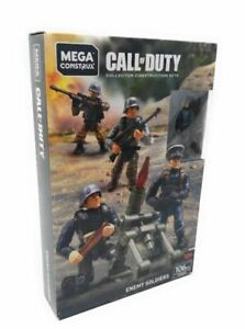 Mega Construx Call Of Duty Enemy Soldier WWII FVG04 Bloks 106 Pieces New