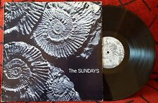 Alt Rock THE SUNDAYS **Reading, Writing And Arithmetic** VERY RARE 1990 Spain LP