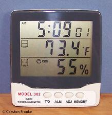 Digital Thermometer Humidity Meter Hygrometer Air Temperature Moisture Sensor H2
