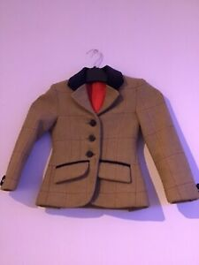Le Beau Cheval tiny Childs Tweed  Jacket