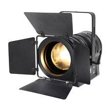 Elumen 8 LED Blanco Cálido MP60 Fresnel Teatro Escuela de Iluminación de Escenario Dmx