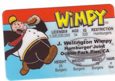 Wimpy aka Popeye 's Hamburger Loving friend  fun Halloween Costume gear