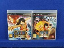 ps3 ONE PIECE Pirate Warriors x2 Games 1 + 2 Action PAL English REGION FREE