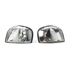 Clear Lens Corner Lights Parking Lamps PAIR fits 1999-2006 VOLVO S80