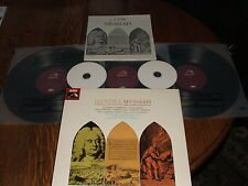 Handel; Messiah. Mackerras. 3xLP Box Set + FREE transcribed CDs.