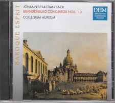 BACH BRANDENBURG CONCERTOS N 1-3  DHM CD