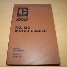 Cat Caterpillar 120 Motor Grader Parts Manual Book Catalog Spare 10r 22r Series