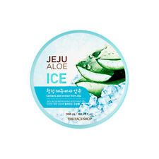 [The Face Shop] Jeju Aloe Refreshing Soothing Gel (Ice) - 300ml