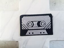 Retro Cassette Player Tape Vintage Record Iron On Patches Patch