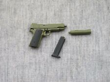 "1/6 Scale Green M1911 Weapon Model Toys F 12"" Action figure Hobbies Gun toy"