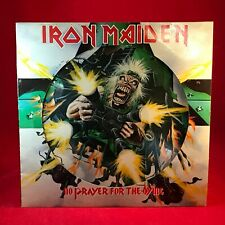 IRON MAIDEN No Prayer For The Dying 1990 UK vinyl LP PICTURE DISC EXCELLENT