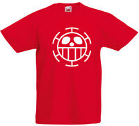 Heart Pirates!, Anime, One Piece Inspired Kid's Printed T-Shirt UK T Shirt Sale