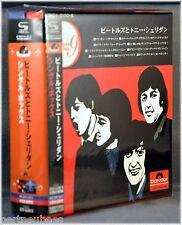 The BEATLES w/Tony SHERIDAN JAPAN Singles BOX Set 9 Mini Sleeves SHM CD NEW