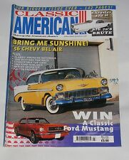CLASSIC AMERICAN JULY 2002 NO.135 - '56 CHEVY BEL AIR/CHRYSLER 300H