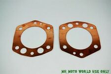 CJ750-Cylinder head copper Gaskets (pair) 32P M1S OHV
