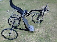 Tricycle RECUMBENT Trike flevobike Flevo Bike-Trike kombinatin