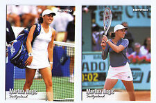 2003 Martina Hingis rookie rc (r)  tennis trading card cards lot of 2 HOF