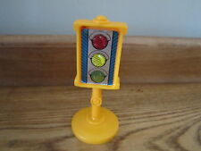 Fisher Price Little People City Village Town Main st traffic light signal yellow