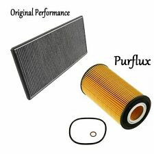 Tune Up Kit Engine Oil & Cabin Air Filters for Land Rover Range Rover 2003-2005