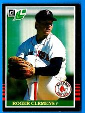 1985 Leaf ROGER CLEMENS  Boston Red Sox (RC)  (ex)  D