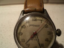 Vintage Transmarine Swiss watch with leather band