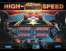 HIGH SPEED DINER POLICE FORCE ELVIRA F14 CYCLONE Pinball Playfield Light mod RED