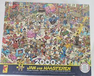 Jan Van Haasteren Jigsaw Puzzle CROWD PLEASERS 2000 Pieces 3501-14 Ceaco 2019