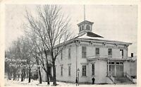 D73/ Dodge Center Minnesota Mn Postcard 1911 Opera House Building