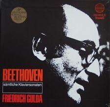 Ludwig van Beethoven-Friedrich Gulda–Sämtliche Klaviersonaten RARE GER Classic
